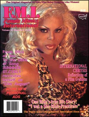 Female Mimics International #84 mags, inc, female, mimics, drag, queen, queens, crossdressing