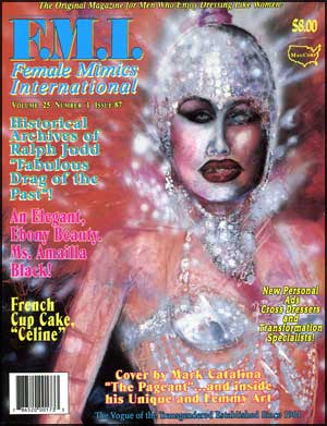 Female Mimics International #87 mags, inc, female, mimics, drag, queen, queens, crossdressing