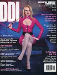 Domination Directory International #79 Domination Directory International, Domme, mags inc, magazine, contacts, dominas, ddi