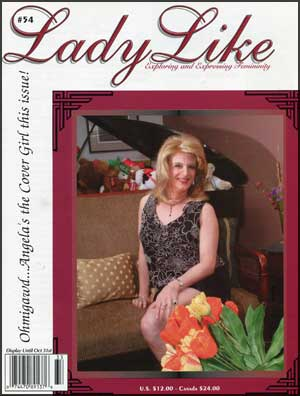 Lady Like #54 mags inc, lady like, magazine, crossdress, crossdresser, tranvestite, transgender, crossdressing