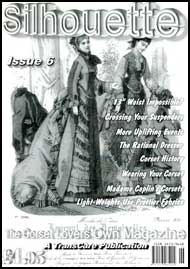 Silhouette Magazine #6 mags inc, crossdressing, silhouette, corset, waist training, transvestite