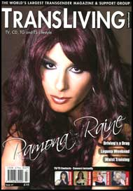TransLiving International #47 Transliving International Magazine, magazine, mags inc, novelettes, crossdressing, transgender, transsexual, transvestite, stories, fiction