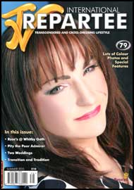 TVRepartee #79 tvrepartee, mags inc, crossdressing, transgender, transsexual, transvestite, magazine, tv repartee