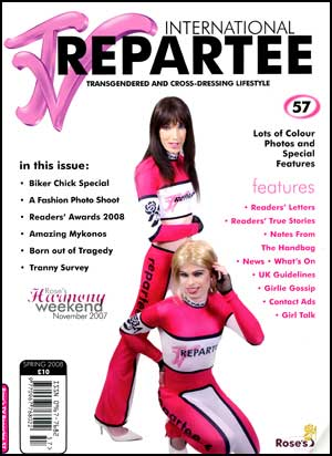 TVRepartee #57 tvrepartee, mags, inc, crossdressing, transgender, transsexual, transvestite, magazine, tv, repartee