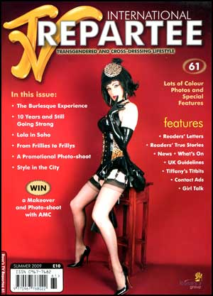 TVRepartee #61 tvrepartee, mags, inc, crossdressing, transgender, transsexual, transvestite, magazine, tv, repartee