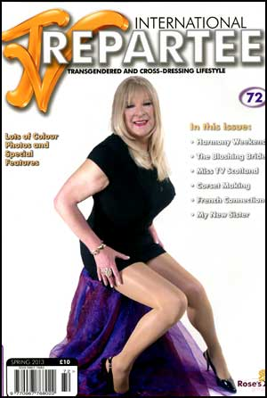 TVRepartee #72 tvrepartee, mags, inc, crossdressing, transgender, transsexual, transvestite, magazine, tv, repartee