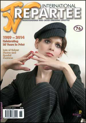 TVRepartee #76 tvrepartee, mags, inc, crossdressing, transgender, transsexual, transvestite, magazine, tv, repartee