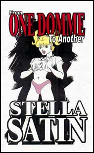 From One Domme to Another by Stella Satin mags inc, crossdressing stories, transvestite stories, female domination stories, sissy maid stories, Stella Satin