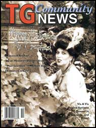 TG Community News #10 TG Community News, transgender magazine, crossdressing magazine, mags inc, stories, crossdressing, transgender, transsexual, transvestite stories,