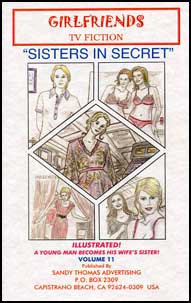 Sisters in Secret by Sandy Thomas sandy thomas, mags inc, crossdress, transvestite, transvestism, transgender. tv fiction classics, my son the actress