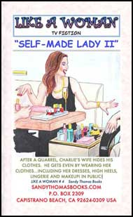 Self-Made Lady Part 2 mags inc, crossdressing stories, forced feminization, transgender stories, transvestite stories, feminine domination story, sissy maid stories, Sandy Thomas