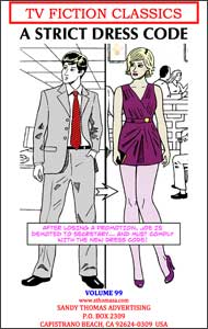 A Strict Dress Code by Alice Trail sandy thomas, mags inc, crossdress, transvestite, transvestism, transgender. tv fiction classics, my son the actress