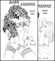 Dark Visions 1 and 2 covers