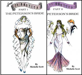 The Petersons Bride Parts 1 & 2 by Michelle Scott mags inc, crossdressing stories, forced feminization, transgender stories, transvestite stories, feminine domination story, sissy maid stories, Michelle Scott