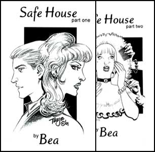 Safe House 1 and 2 by Bea mags inc, crossdressing stories, forced feminization, transgender stories, sissy stories, transvestite stories, feminine domination story, sissy maid stories, Bea