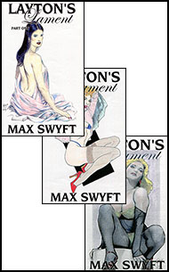 Laytons Lament All Three Parts by Max Swyft mags inc, Reluctant press, crossdressing stories, transgender stories, transsexual stories, transvestite stories, female domination, Max Swift