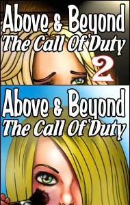 ABOVE & BEYOND The Call of Duty #1 and #2 by Charlotte Johnson mags, inc, novelettes, crossdressing, transgender, transsexual, transvestite, feminine, domination, story, stories, fiction